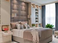 Спальня 13 кв. м. — 75 реальный фото идей грамотной планировки и дизайна