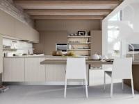 Бежевая кухня — обзор правил сочетания и фото идей дизайна