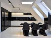 Черно белая кухня — безупречное решение современного интерьера (100 фото)