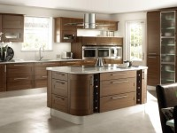 Коричневая кухня — 57 фото идей дизайна кухни коричневого цвета