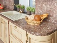 Столешницы для кухни — фото красивого дизайна в кухне