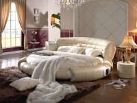 Круглые спальни — 85 фото необычного дизайна