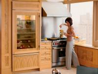Кухня с холодильником — 100 фото идей красивого сочетания в интерьере кухни