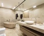 Столешница для ванной комнаты — 80 фото модного дизайна