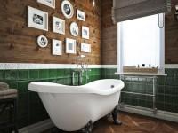 Ванная с окном — фото дизайна и особенностей оформления