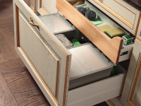 Ящики для кухни — фото необычный идей систем хранения в кухне