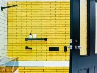 Желтая ванная — дизайн ванной желтого цвета, правила сочетания, фото в интерьере