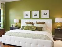 Зеленая спальня: ТОП-100 фото идеально сочетания зеленного цвета в спальне
