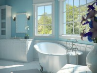 Голубая ванная: 75 фото лучших идей и советов дизайна