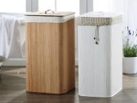 Корзина для белья в ванную — фото идеи красивого сочетания в интерьере