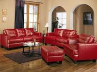 Красная мебель в интерьере — 75 фото яркого дизайна