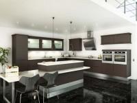Кухня венге — 70 фото идеального дизайна