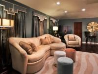 Ламбрекены в гостиную — пошаговая инструкция по декору + 75 фото в интерьере