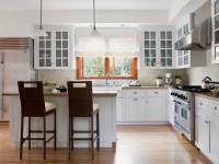 Кухня с окном: ТОП-100 фото оригинальных идей дизайна