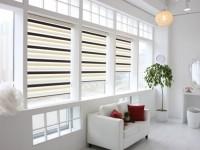 Рулонные шторы на пластиковые окна — 70 фото в интерьере