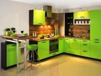 Салатовая кухня — фото лучших идей дизайна кухни салатового цвета