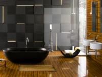 Стены в ванной комнате — 50 фото красивых решений дизайна