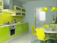 Зеленая кухня — 70 фото идей оформления кухни зеленого цвета