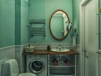 Зеленая ванная — 57 фото идей дизайна и сочетания цвета