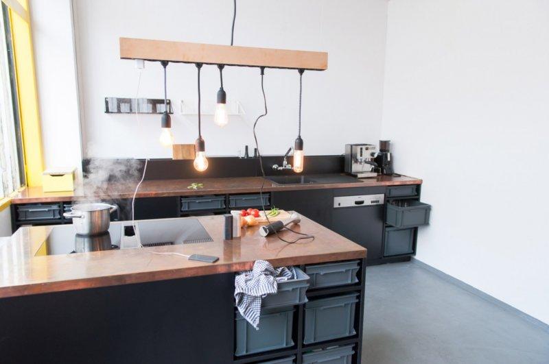 кухня студия инструкция как идеально сочетать два интерьера 100