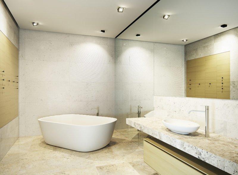 Ванная комната дизайн свет Душевая стойка Garcia Estante 81218