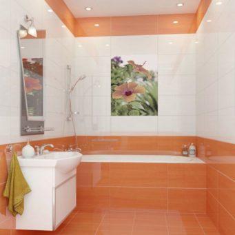 Столешница в ванной примеры сочетания раскладки Столы искуственный камень Новая Деревня