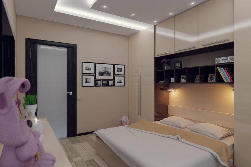 Дизайн спальни 11 метров кв