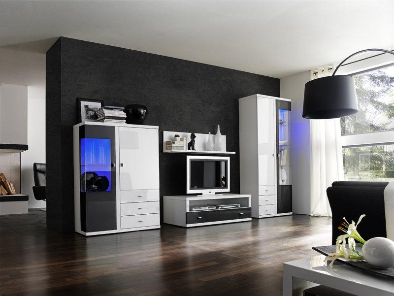 Черная мебель - 75 фото эксклюзивных идей дизайна