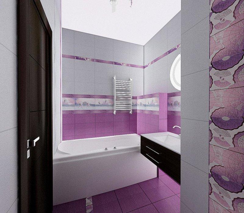 Ванные комнаты фиолетовые купить в самаре смесители
