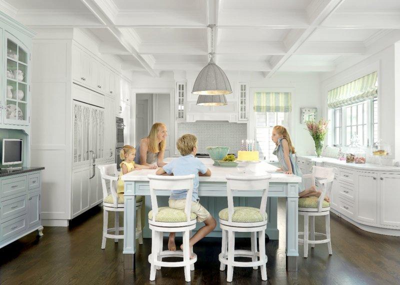 дизайн кухни в частном доме фото лучших современных вариантов