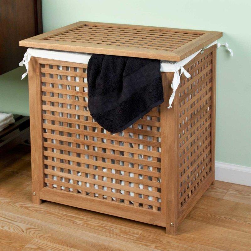Ящик для белья своими руками в ванной