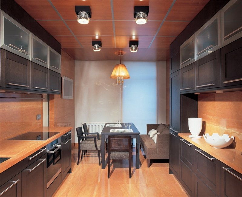 Кухня-столовая 12 кв.м дизайн