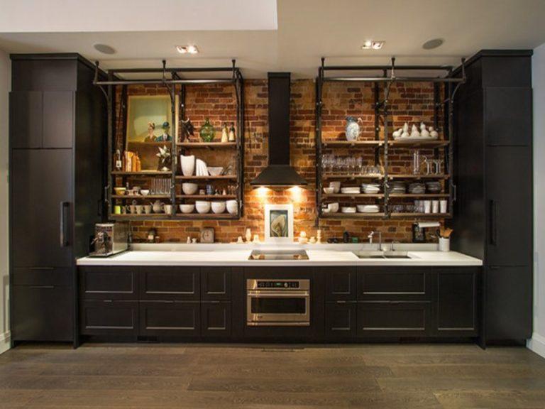 Кухонная мебель в стиле лофт своими руками 89