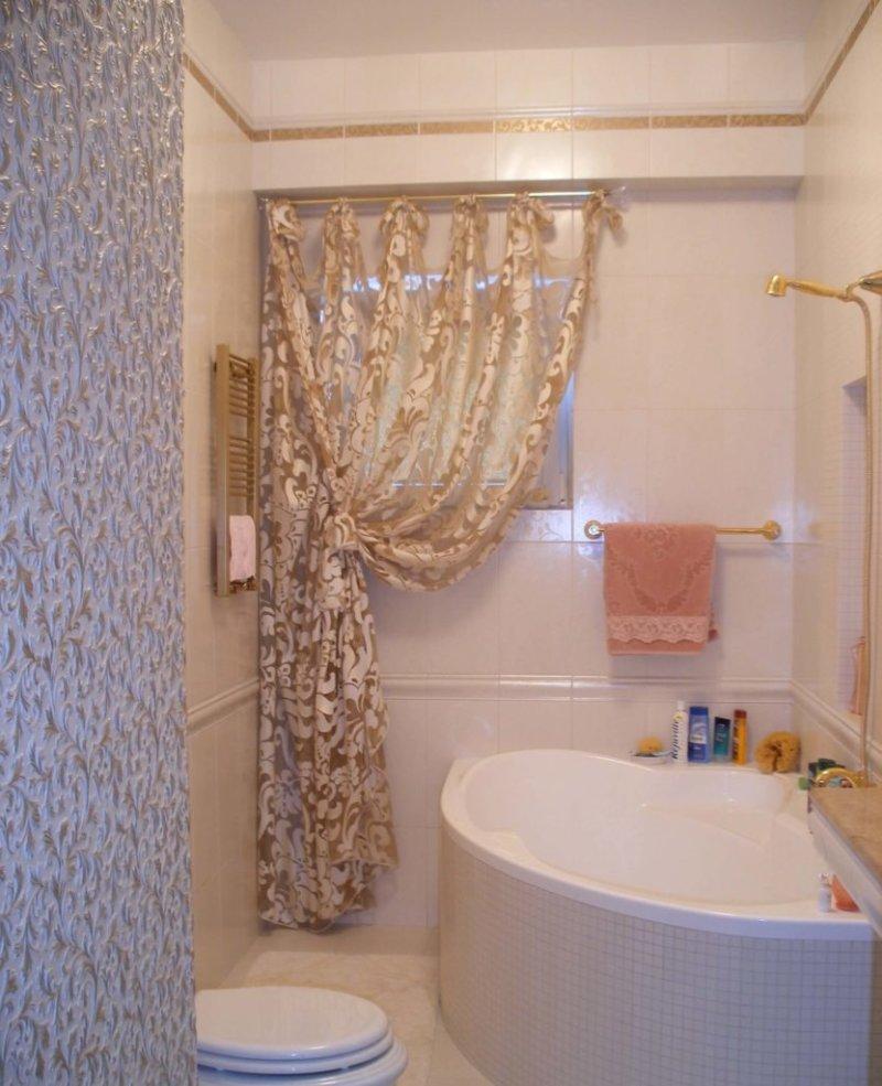 Штора для ванной своими руками фото 780