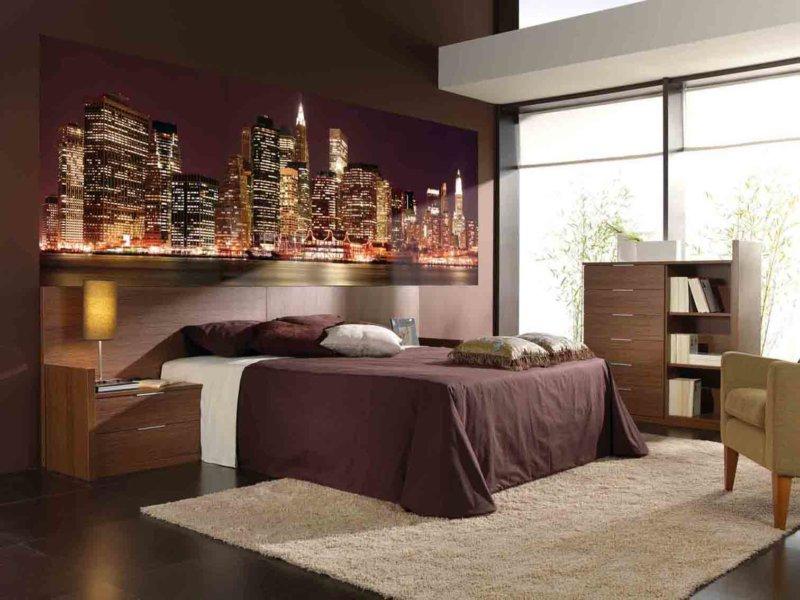 Дизайн занавески для спальной комнаты