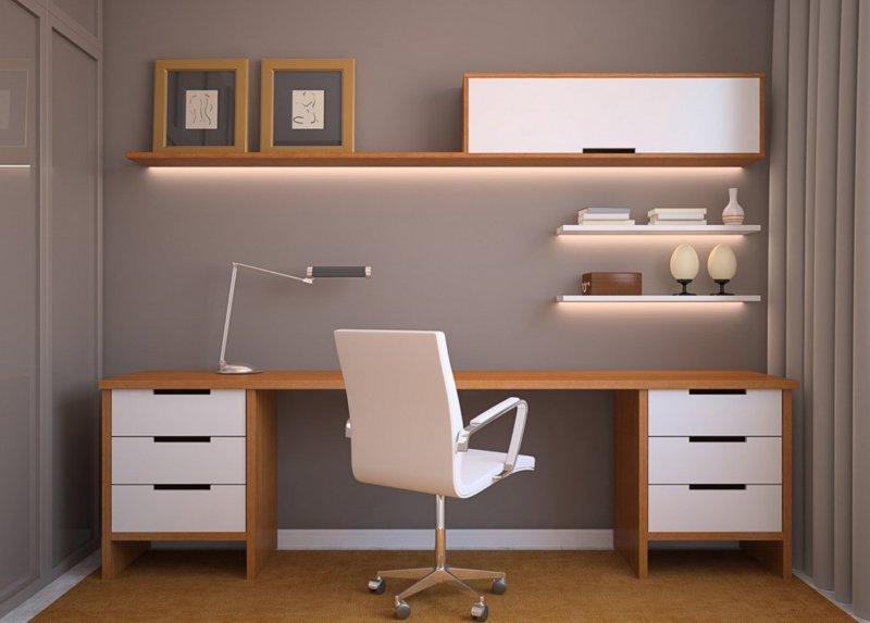 письменный стол в интерьере фото лучших идей дизайна