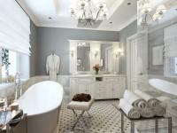 Белая ванная комната — нюансы идеального сочетания (85 фото)