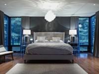 Освещение в спальне — правила выбора стильного освещения + 70 фото