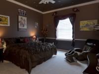 Шоколадная спальня — фото примеры дизайна спальни в шоколадных тонах