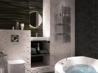 Черная плитка в ванной — идеи как создать стильный дизайна (75 фото)