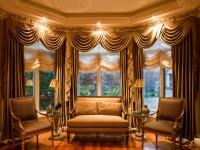 Французские шторы в интерьере — 57 фото готового дизайна