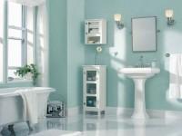 Синяя ванная комната — 50 фото красивого и нежного дизайна