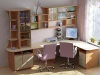 Компьютерный стол в интерьере — модные новинки + 70 фото дизайна