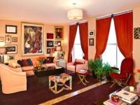 Красные шторы в интерьере — 70 фото идей яркого дизайна