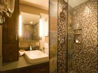 Мозаика для ванной — примеры эксклюзивного и стильного дизайна в ванной комнате (100 фото)