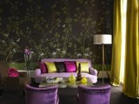 Обои для гостиной — фото 95 модный идей для гостиной, новинки