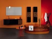 Оранжевая ванная комната — 55 фото интерьера оранжевого цвета в ванной