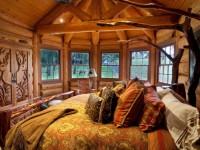 Спальня в деревянном доме — 70 фото особенностей необычного дизайна. Рекомендации как создать уютную атмосферу