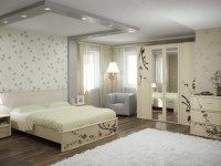 Светлые обои в спальню: ТОП-100 фото идей нежного дизайна