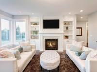 Как украсить гостиную — фото примеры уютного дизайна в гостиной